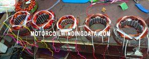 LG WASHING MACHINE MOTOR WINDING DATA Pitch Turn And Full Winding.