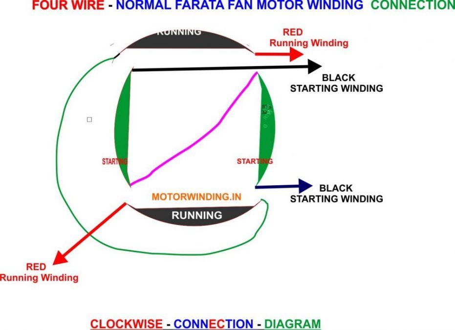 Farata Fan Motor Connection Diagram.motorwinding.in