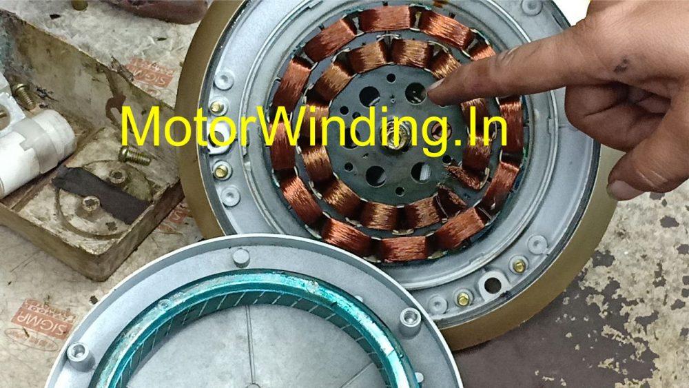 Ceiling fan winding 12+12 Slots In Hindi