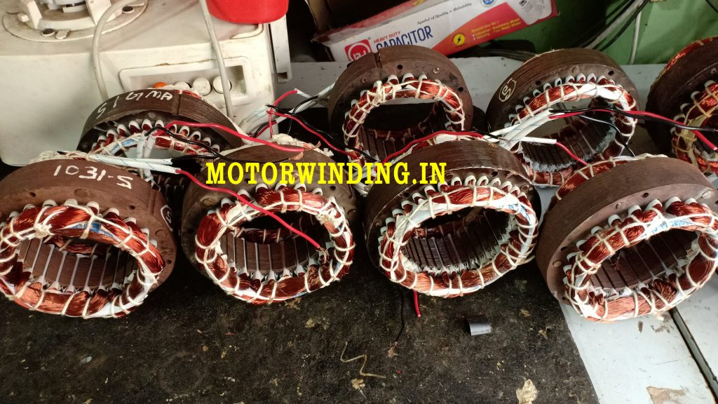 24 Slot cooler motor winding data in hindi by motorwinding.in