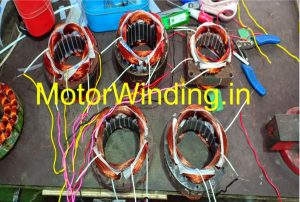 24 Slot cooler motor connection diagram in hindi