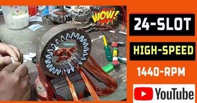 24 स्लॉट कूलर मोटर वाइंडिंग|24 Slot Cooler Motor Rewinding/Winding Data In Hindi.