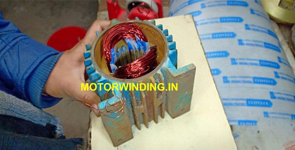 Mini tulu pump 0.37 kw,0.5 hp water pump winding data in hindi.motorwinding.in