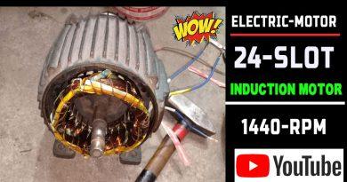 1Hp Single Phase Induction Motor Winding |1Hp Electric Motor |Electric Motor|Ac Motor by Technical Topic.1Hp 1400 Rpm 36 Slot.