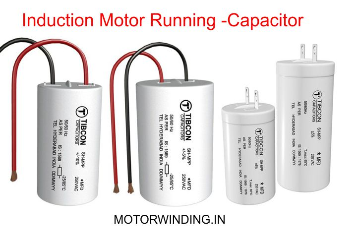 Ac Motor Running And Starting Capacitor Difference.