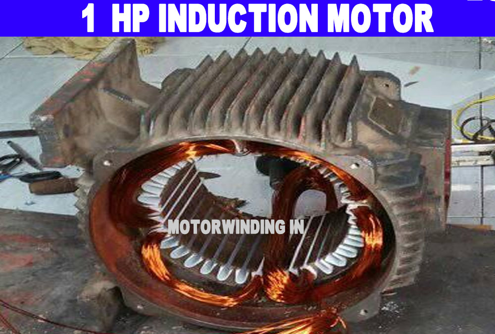 1Hp Single Phase Induction Motor Winding |1 Hp Electric Motor |Electric Motor|Ac Motor by Technical Topic.1 Hp 1440 Rpm 36 Slot.