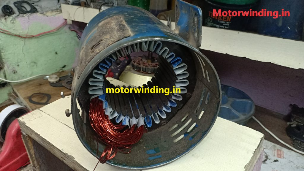 2Hp Crompton Greaves Induction Motor Winding|32 Slot Electric Motor|Crompton Greaves Ac motor Winding Data.