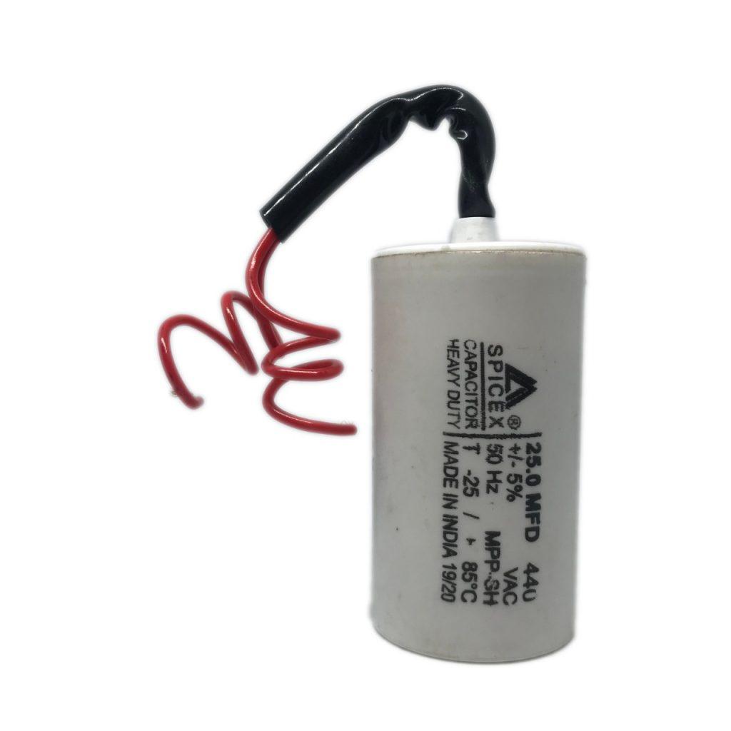 1.5 Hp Motor capacitor value