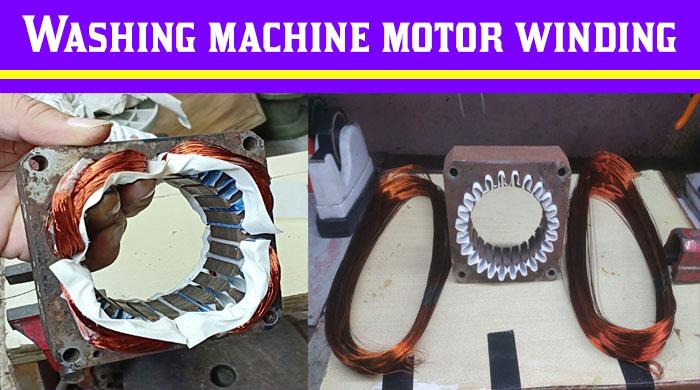 Washing Machine Winding  Washing Machine Motor Price
